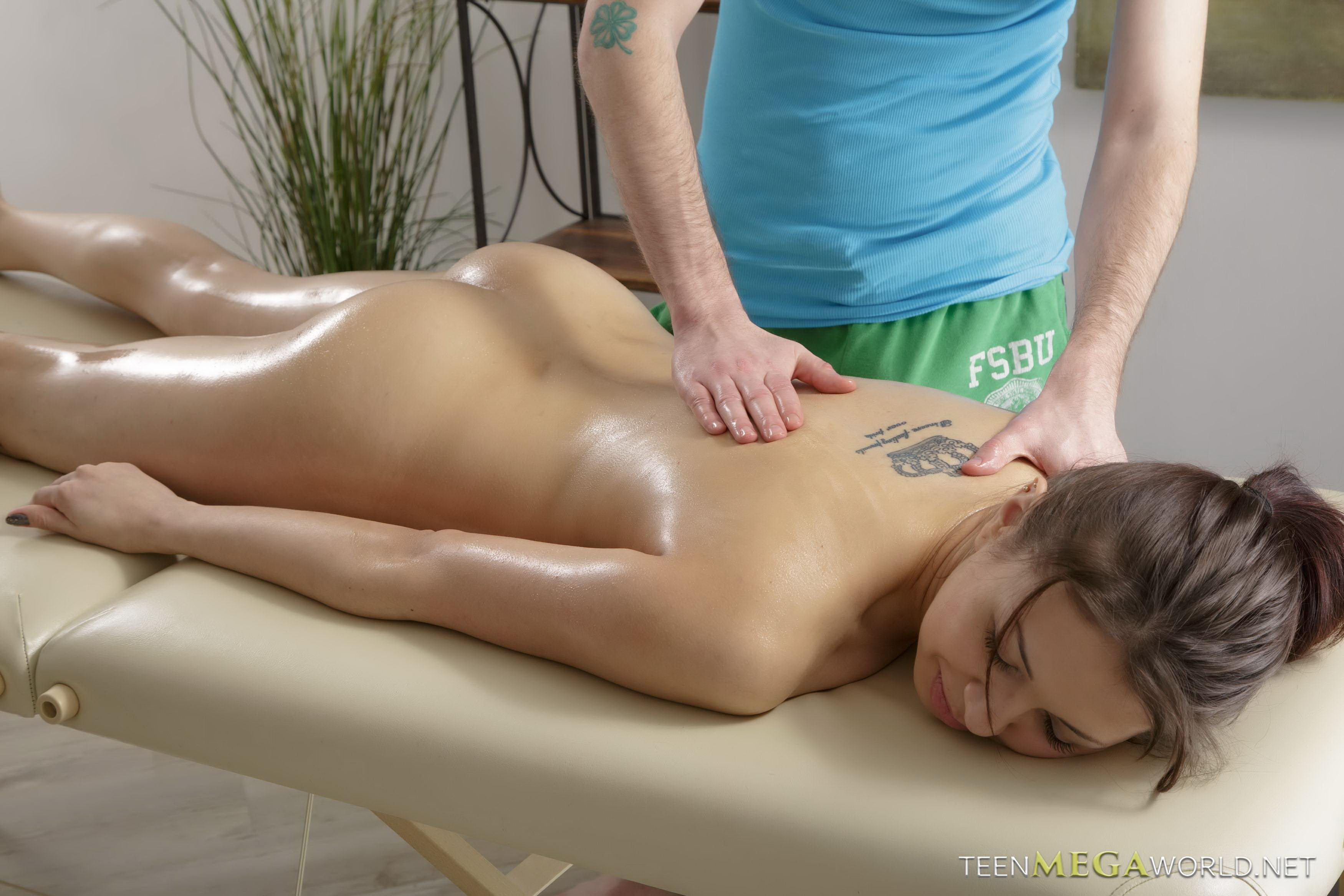 Hot girl massage sex